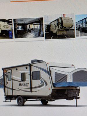 Camper trailer 2017 Keystone bullet crossfire 1650 Ex for Sale in Farmington, MN