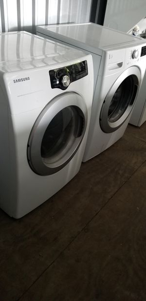 Washer &dryer Lavadoras secadoras puerta frontal for Sale in Houston, TX