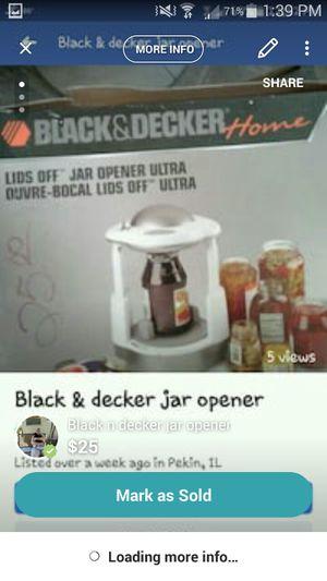Jar opener for Sale in Pekin, IL