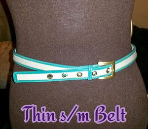 Thin Teal & White Belt S/M for Sale in Bolingbrook, IL