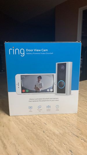 Ring DOOR VIEW CAM for Sale in Brentwood, CA