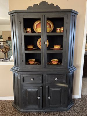 Rustic Wood Cabinet for Sale in Kingsburg, CA