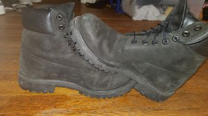 Black timberlands size 8 for Sale in Pittsburgh, PA
