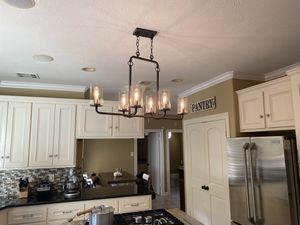 Kitchen Light Fixture Island Chandelier for Sale in Houston, TX