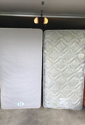Sealy full box spring & mattress w/ frame for Sale in Tacoma, WA