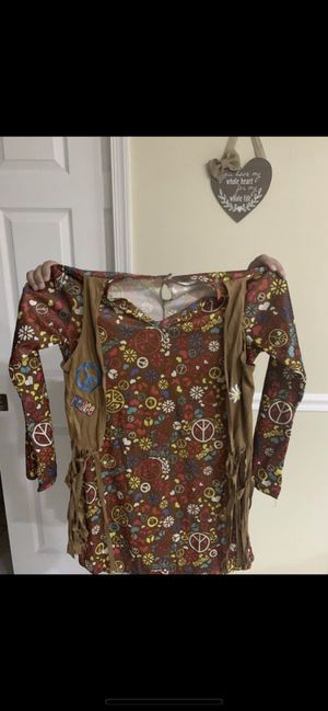 Hippie costume size 12-14 girls for Sale in FL, US