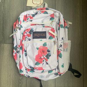 Jansport flower prints bookbag back pack for Sale in Duluth, GA
