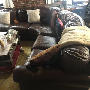 Leather Sectional Sofa for Sale in Boston, MA