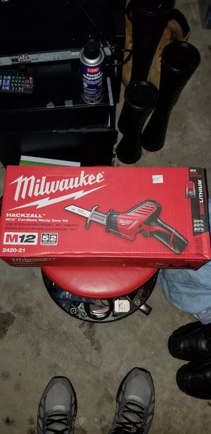 Milwaukee saw saw for Sale in Germantown, MD