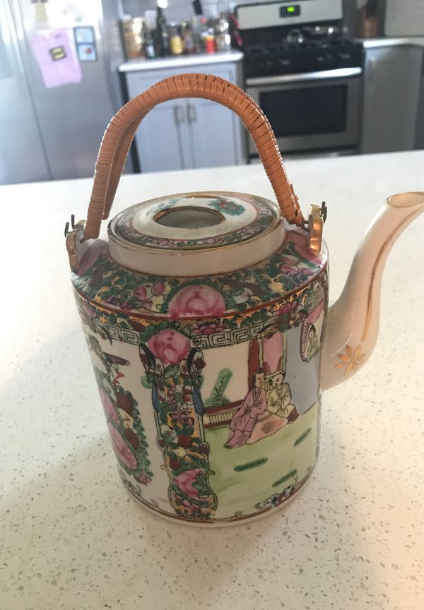 Antique china teapot