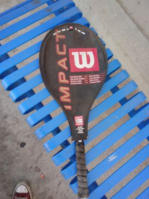 wilson impact, oversize tennis racket for Sale in Atwater, CA