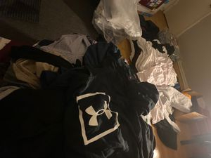 Free clothes. Must take all or trash by tomorrow for Sale in Santa Ana, CA