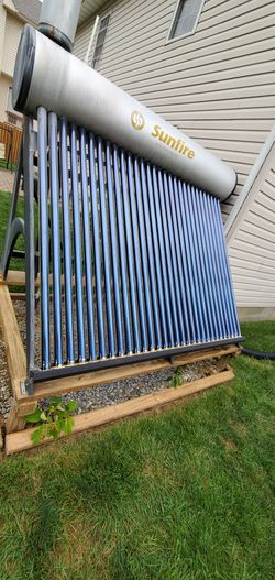 Solar tube for water heater for Sale in Falls Church,  VA