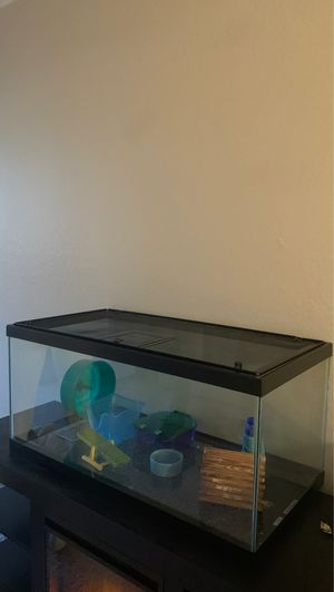 Hamster cage ( comes with everything in it!) for Sale in Walnut Creek, CA
