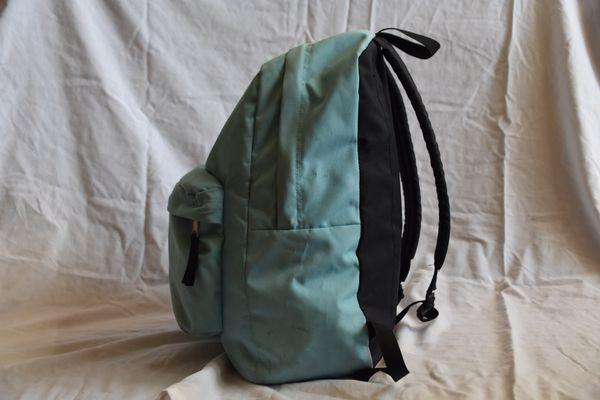 Aqua blue Jansport backpack (superbreak)
