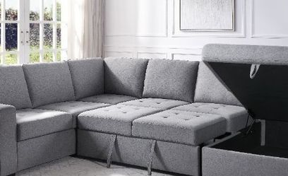 New 👑•Storage Sleeper Sectional Sofa for Sale in Las Vegas,  NV