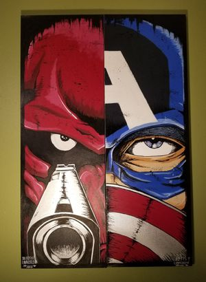 CAPTAIN AMERICA VS.THE RED SKULL for Sale in Humble, TX