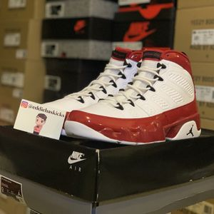 Jordan 9 Retro Gym Red White Size 9 DS Brand New for Sale in Philadelphia, PA