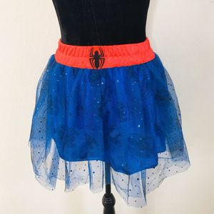 Supergirl Costume Tutu Tulle Sparkle Skirt One Size Fits Most for Sale in Jamul, CA