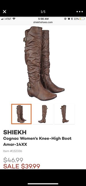 Womens knee high boots for Sale in Chula Vista, CA