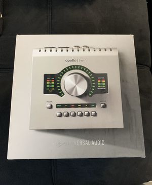 Universal Audio Apollo Twin MKII DUO Thunderbolt Audio Interface for Sale in Los Angeles, CA