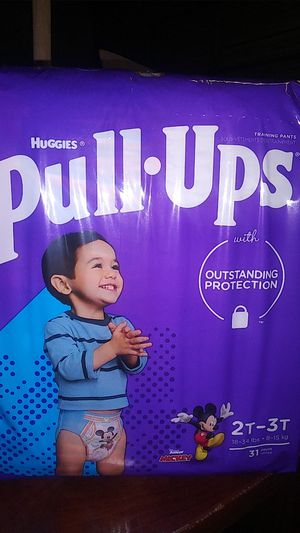 Huggies pull ups 2T-3T 31 count FRONT Display ( 1 in Stock) for Sale in Phoenix, AZ