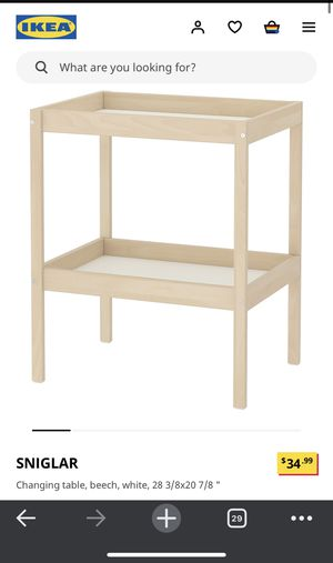 Ikea changing table with pad for Sale in Federal Heights, CO