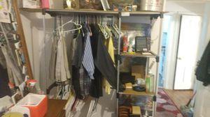 Closet clothes organizer reinforced for Sale in Detroit, MI