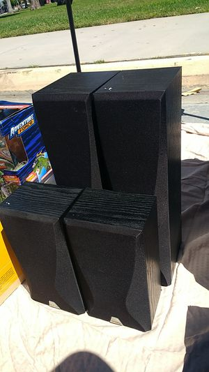 Set of 4 onkyo speakers for Sale in Whittier, CA