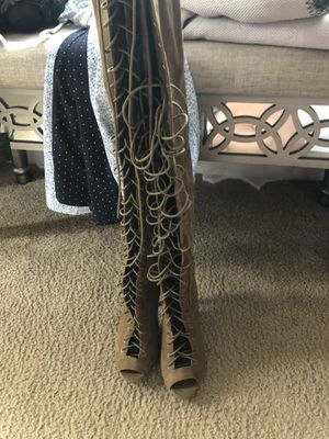 thigh high boots for Sale in Orlando, FL