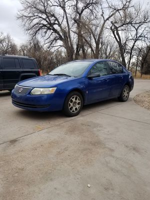 05 Saturn ion 4 cylinder automatic 92k for Sale in Colorado Springs, CO