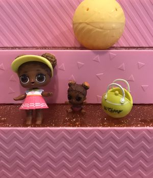 Two LOL Surprise Doll COURT CHAMP and LIL COURT CHAMP (2-013) and (3-045) for Sale in Miami, FL