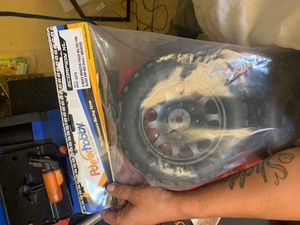 Traxxas. X maxx tires black rim 24 mm hex scorpions xl belted tires a set of 4 never opened 100 I payed 140 for Sale in Lake Stevens, WA