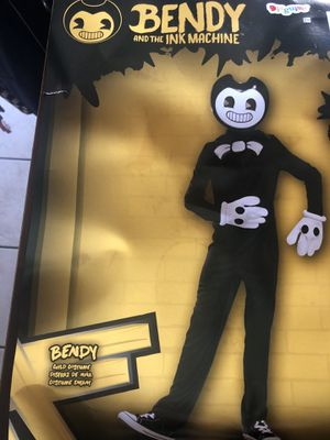 Kids size Large Bendy and the Ink machine Costume for Sale in Chino, CA