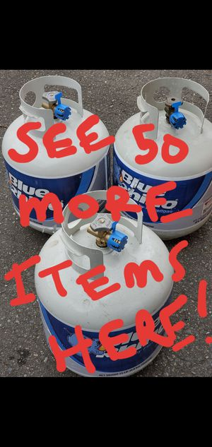 Full Blue Rhino propane tanks with factory seal & 50 more items for Sale in Kirkland, WA