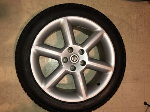350z Oem Wheels and Tires (4) for Sale in San Francisco, CA