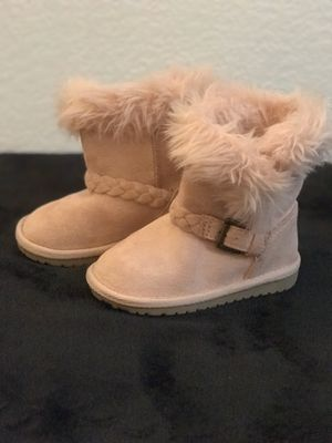 Girl Faux Fur Toddler Boots for Sale in Fresno, CA