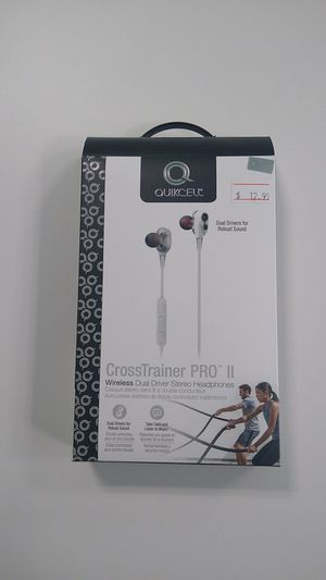 Quickcell Wireless Dual Driver Stereo Headphones for Sale in Washington, DC