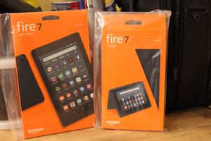 """All New Fire 7 Tablet (7"""" Display with 32 GB) with Case for Sale in Fort Worth, TX"""