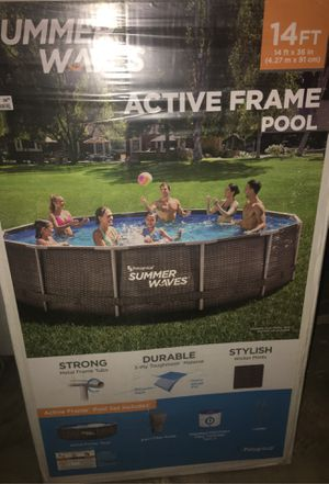 Summer Waves 14 x 36 inch NEW Pool with Pump, Filter & Ladder $$475 FIRM TODAY ONLY!!$$ for Sale in Dallas, TX