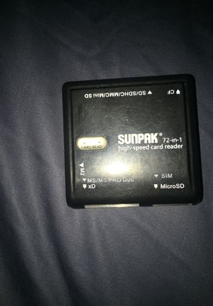 Memory card reader for Sale in Johnston, IA