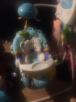 Musical baby swing for Sale in Arlington, TX
