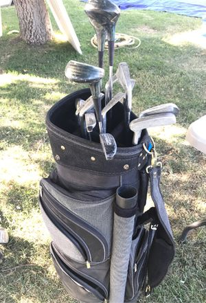 Golf clubs and carrier for Sale in Los Angeles, CA