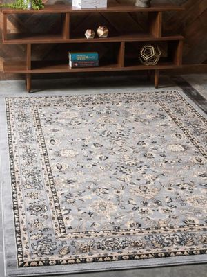 USED GREY Area Rug 9×12 for Sale in Auburndale, FL