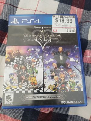 Kingdom hearts collection (ps4) for Sale in Queens, NY