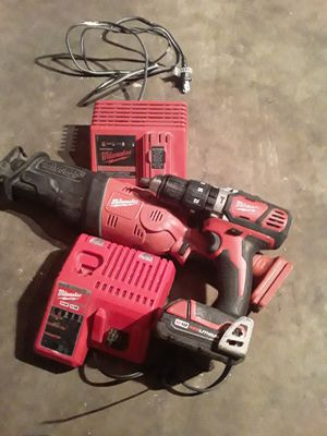 Milwaukee hammer drill 1/2 18v for Sale in Los Angeles, CA