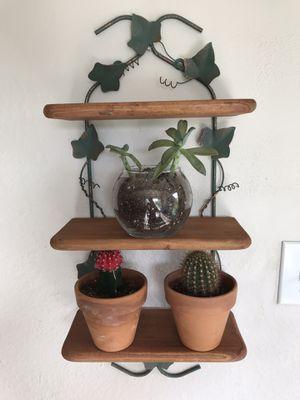 Cute rustic wooden 3 tier shelves for Sale in Denver, CO