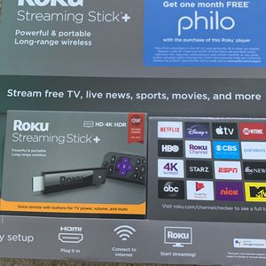 Brand New Roku Streaming Stick Plus-4k for Sale in Laurel, MD