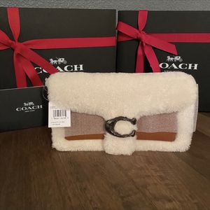 Coach New wrapped Shearling Tabby bag for Sale in Littleton, CO