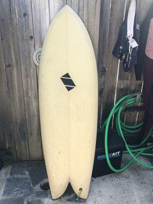 "5-2"" Ian Zamora Fish Surfboard for Sale in Encinitas, CA"